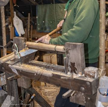 In use Polelathe